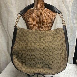 COACH Chelsea Hobo Handbag Brown G1781-37769